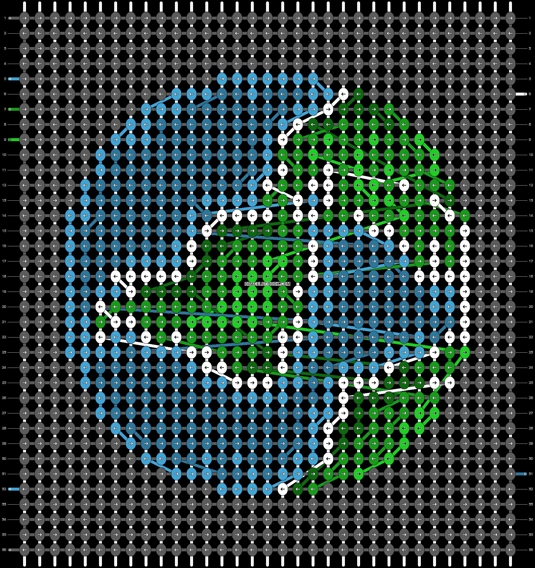 Alpha pattern #57005 pattern