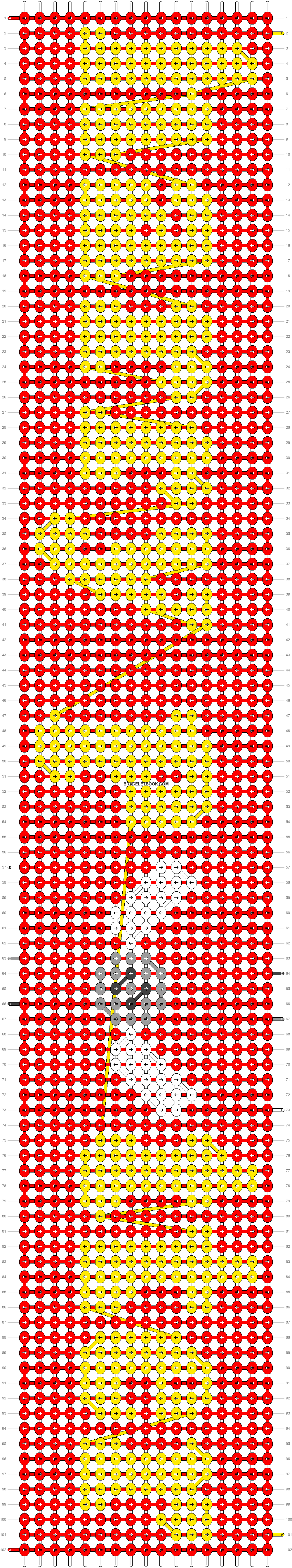 Alpha pattern #57006 pattern