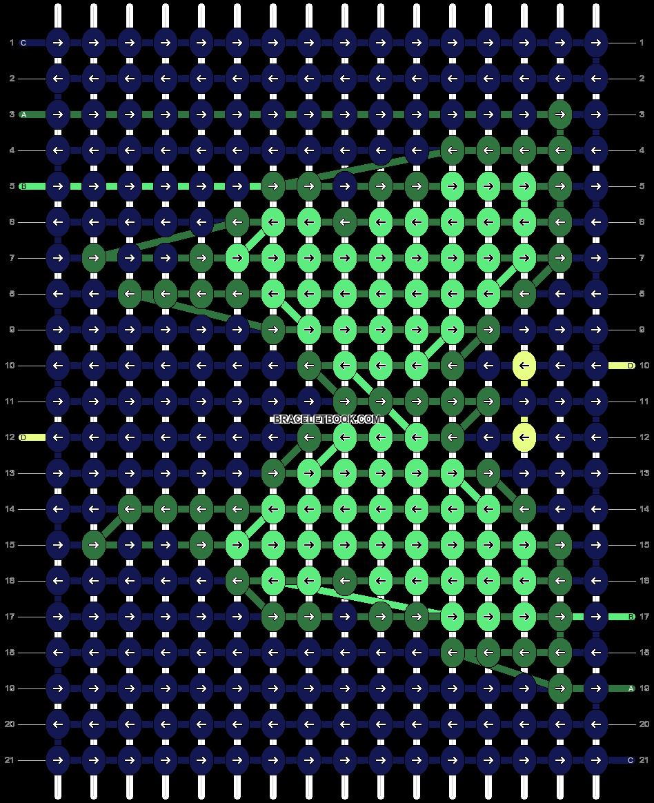 Alpha pattern #57026 pattern