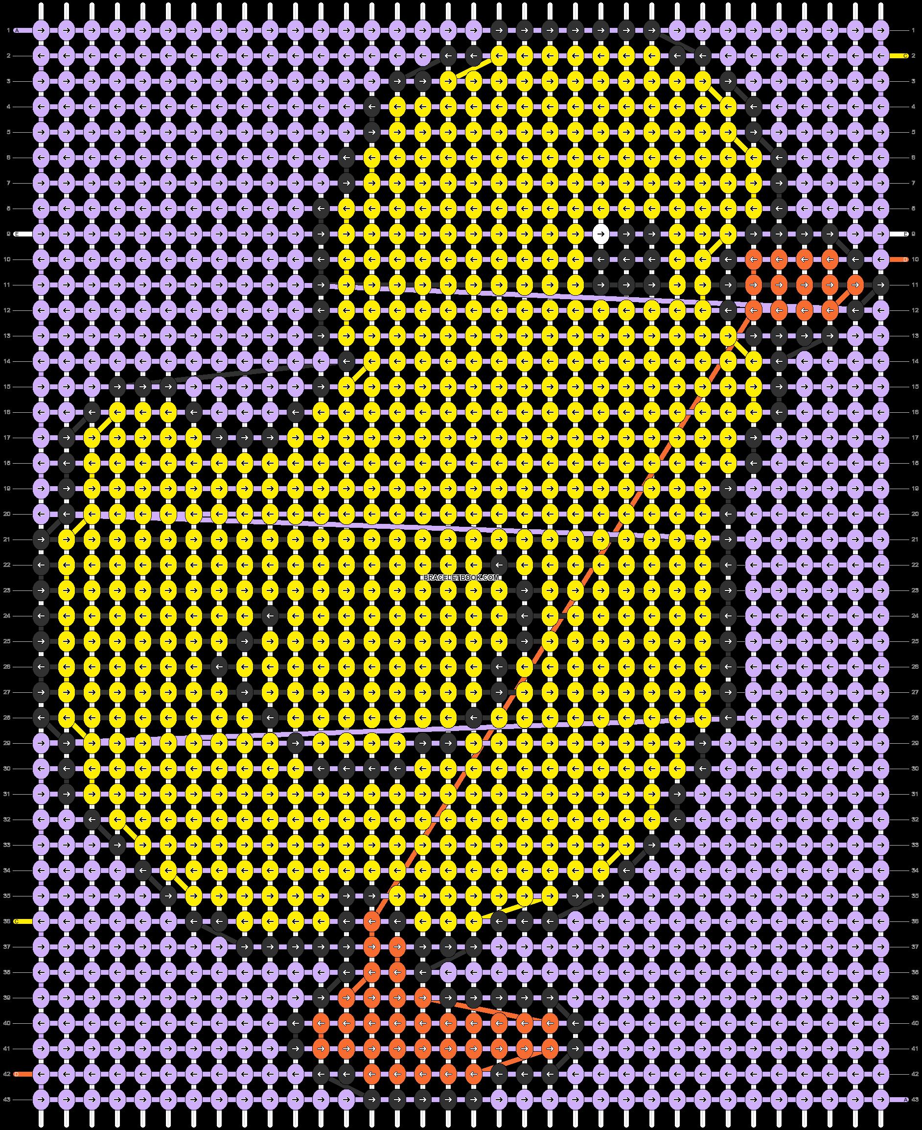 Alpha pattern #57036 pattern