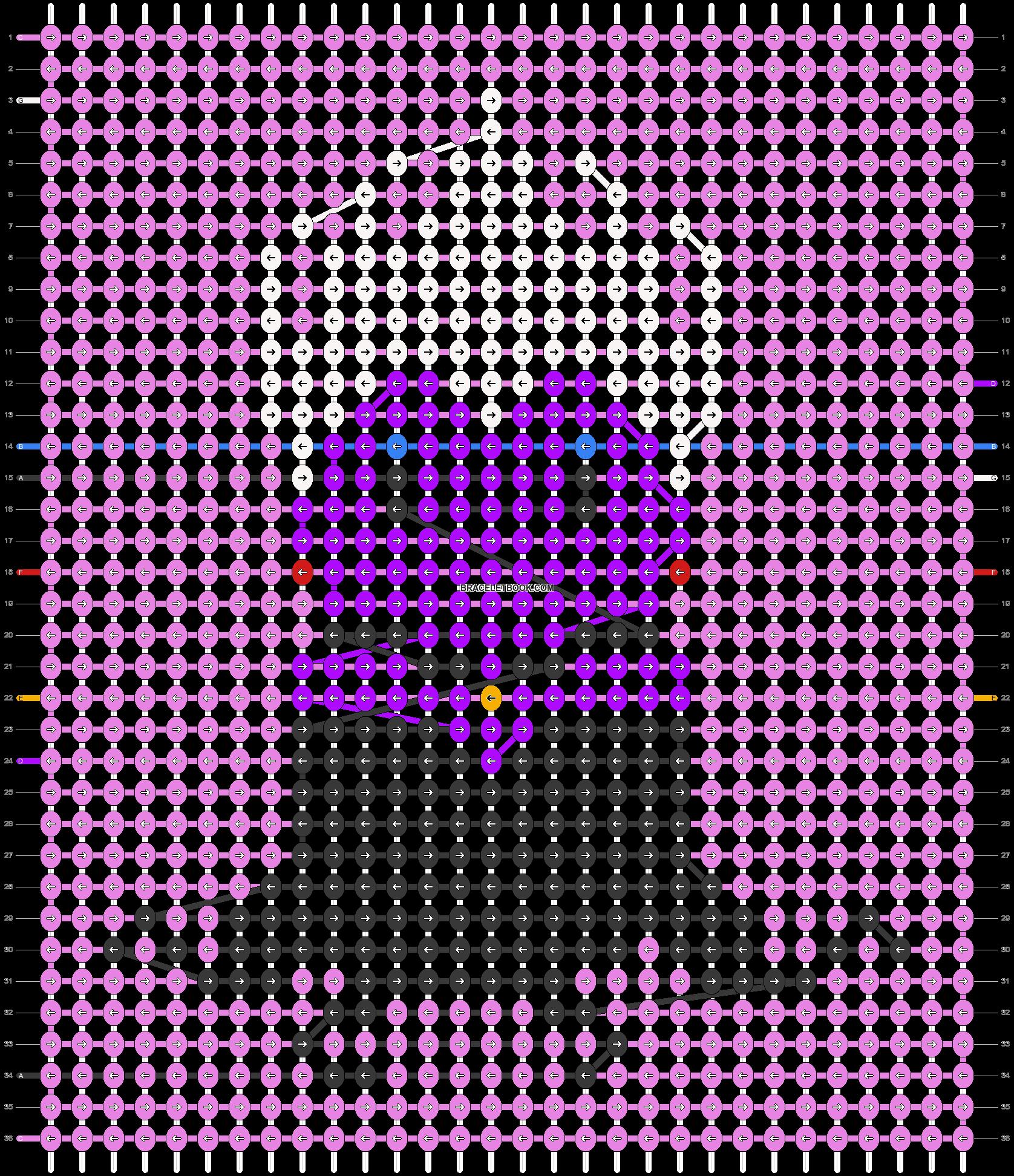 Alpha pattern #57039 pattern