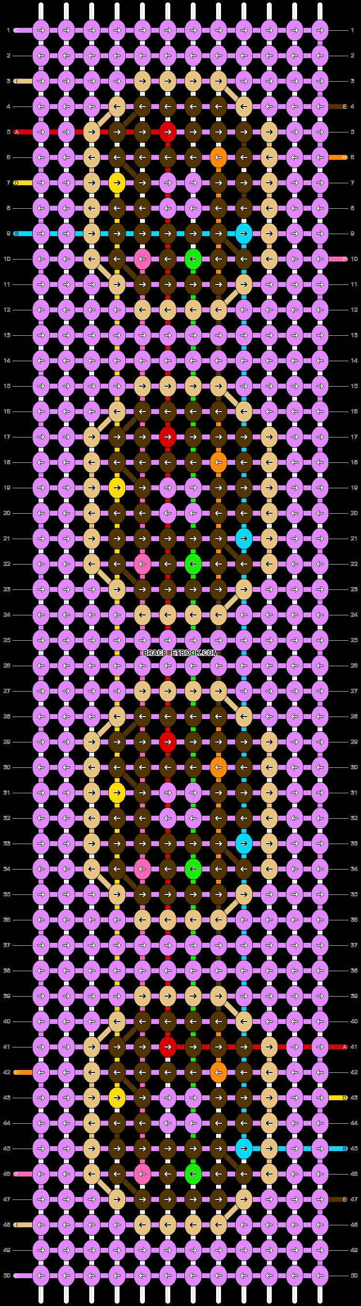 Alpha pattern #57044 pattern