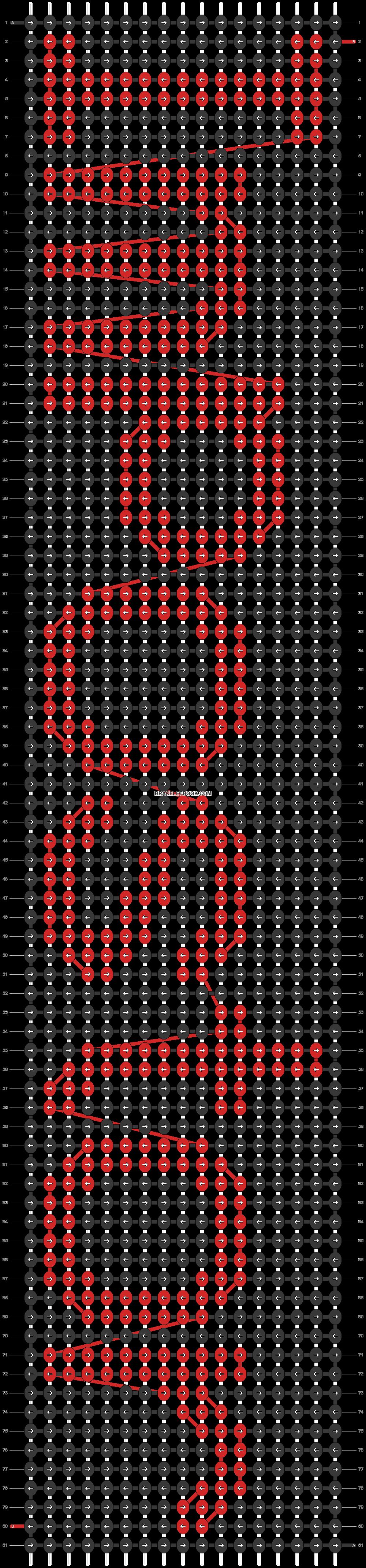Alpha pattern #57060 pattern