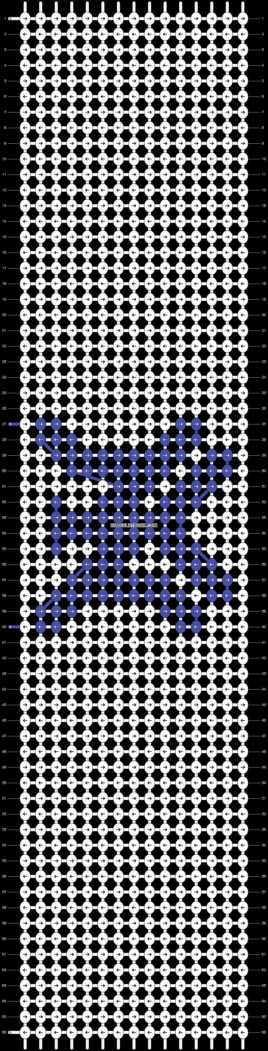 Alpha pattern #57065 pattern