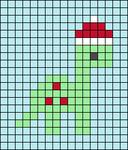 Alpha pattern #57068