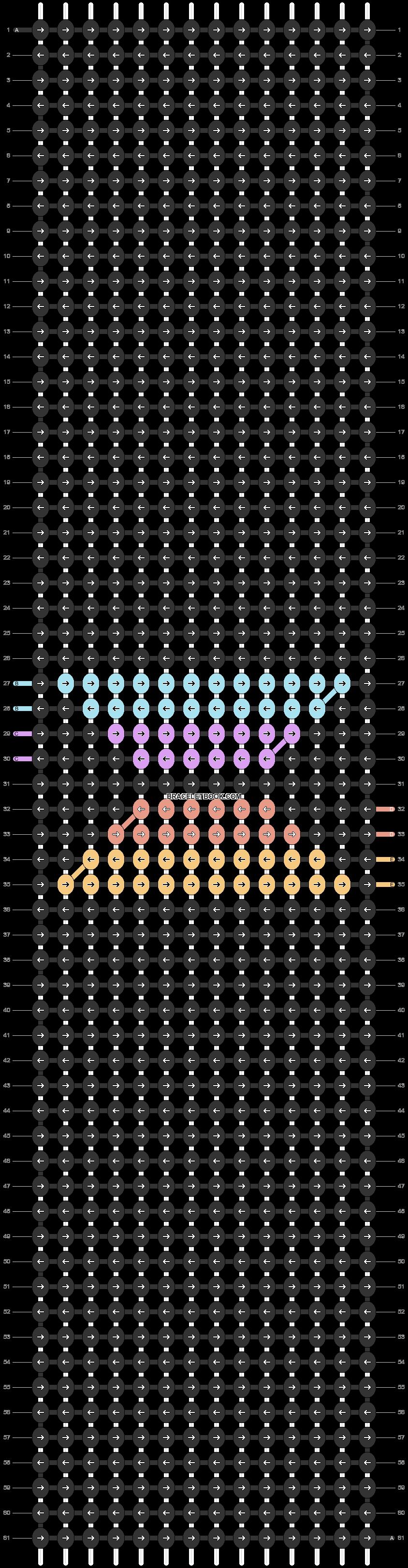 Alpha pattern #57081 pattern