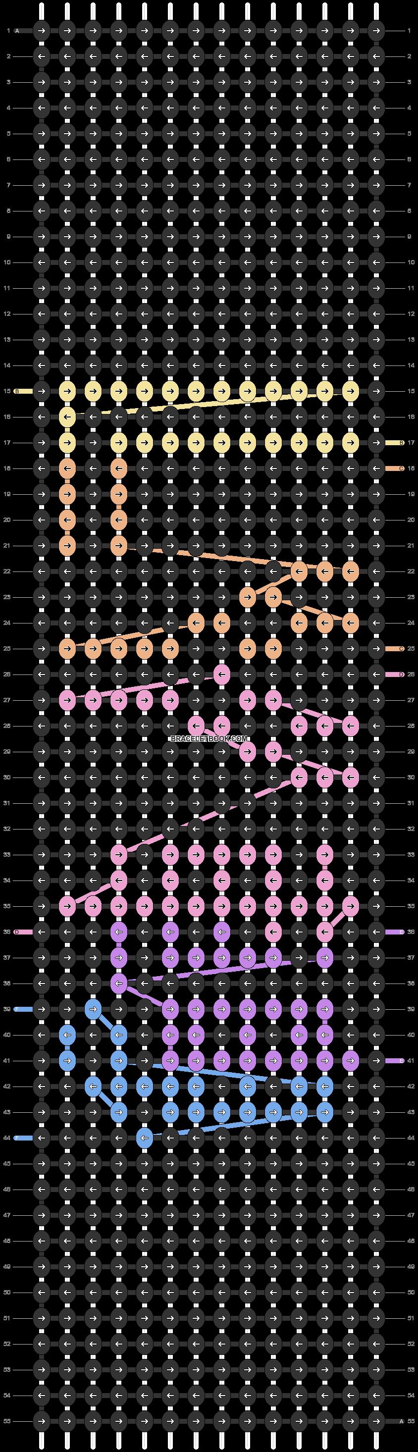 Alpha pattern #57084 pattern