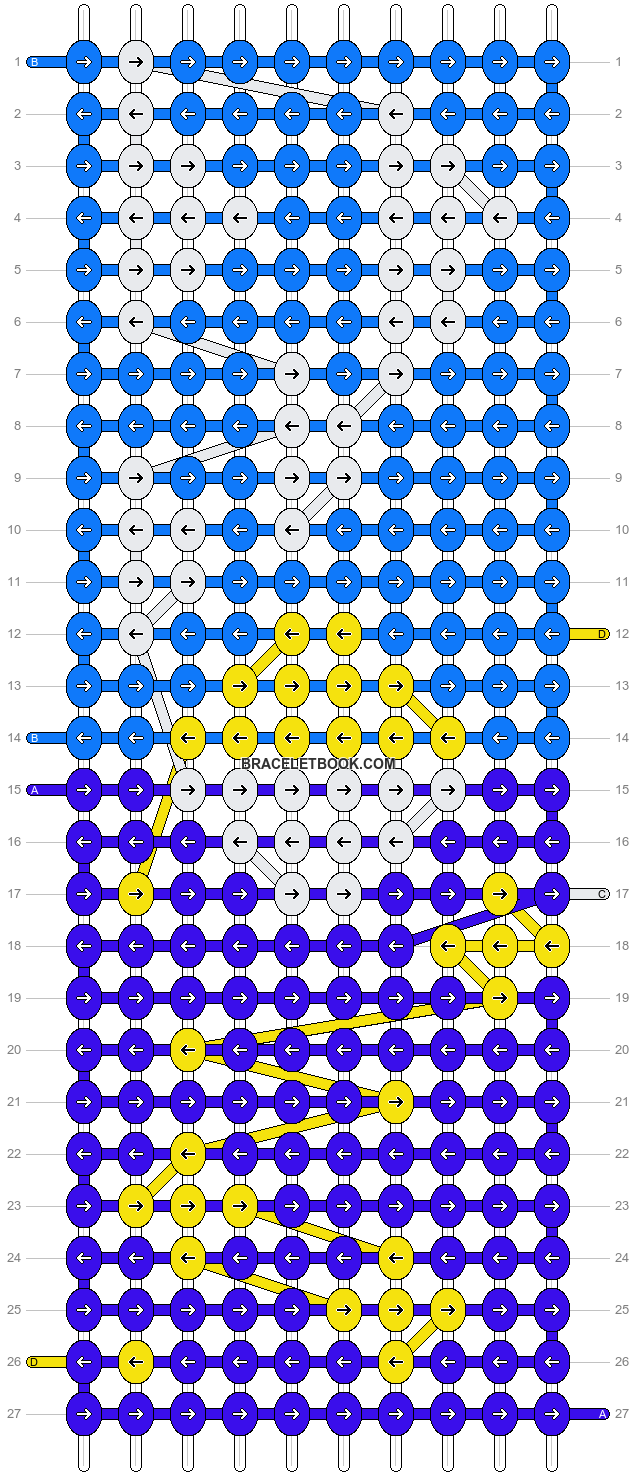 Alpha pattern #57086 pattern