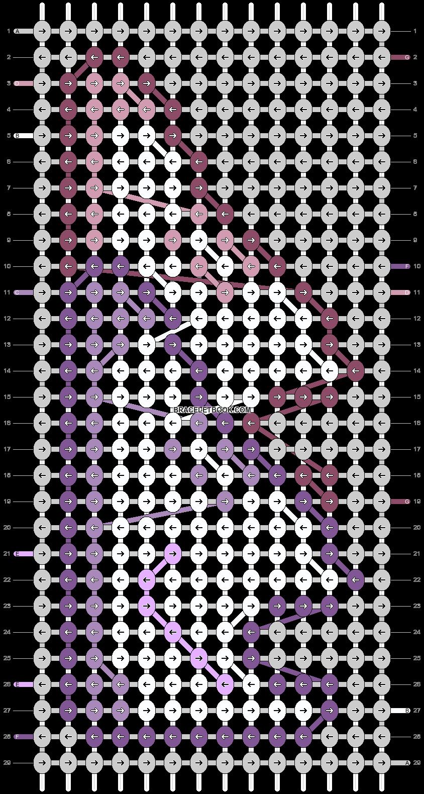 Alpha pattern #57111 pattern