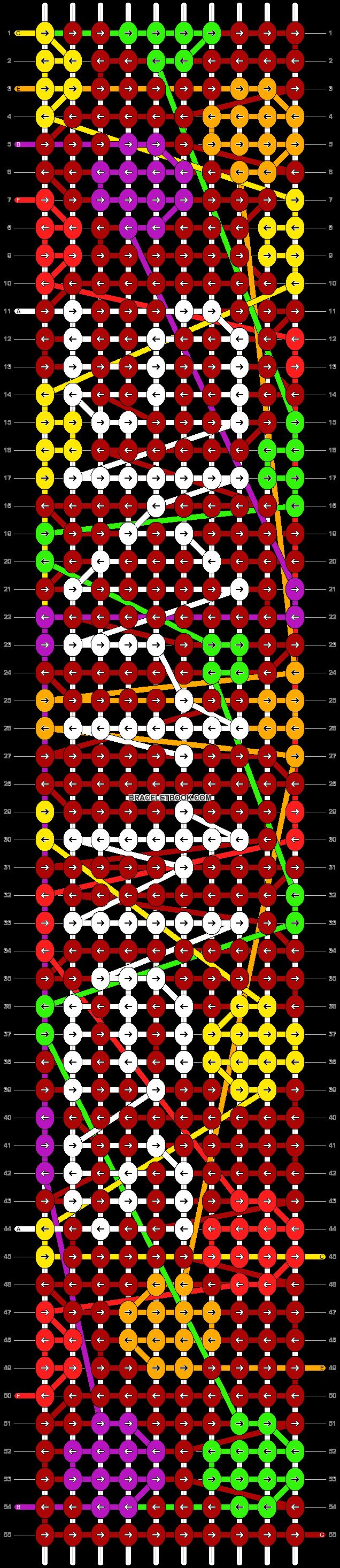 Alpha pattern #57130 pattern