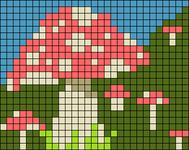 Alpha pattern #57134
