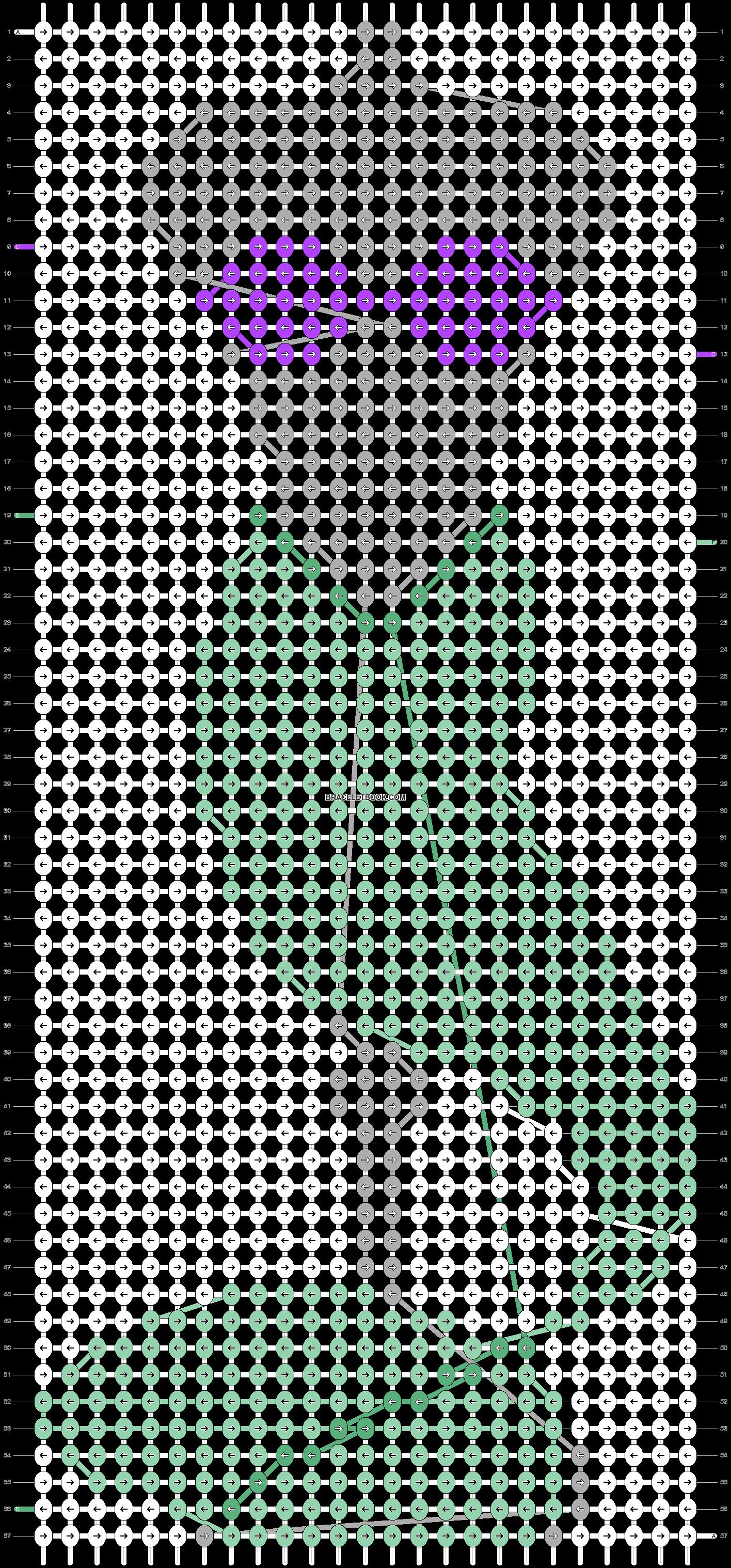 Alpha pattern #57138 pattern