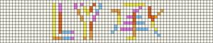 Alpha pattern #57143