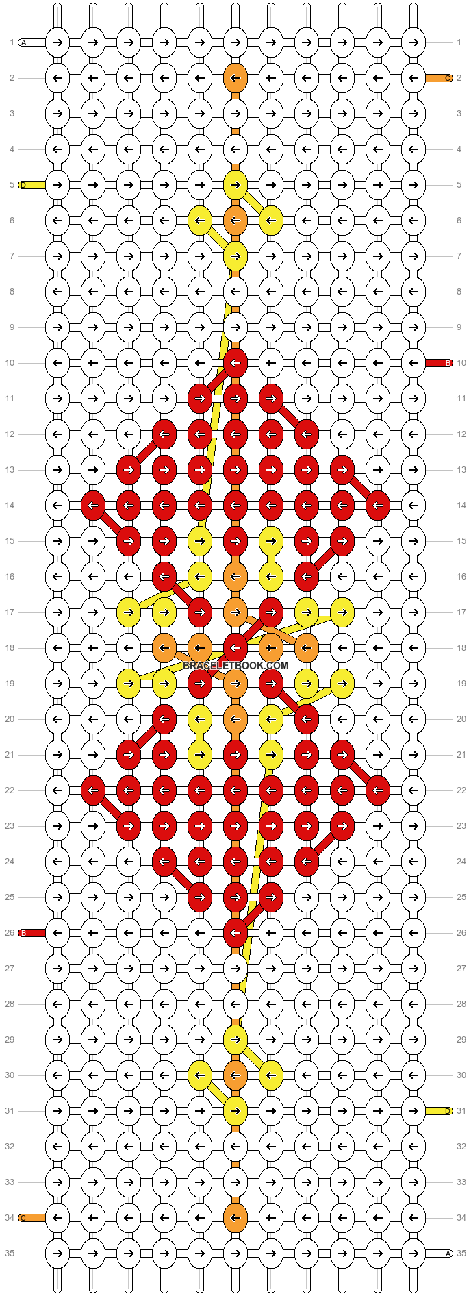 Alpha pattern #57150 pattern