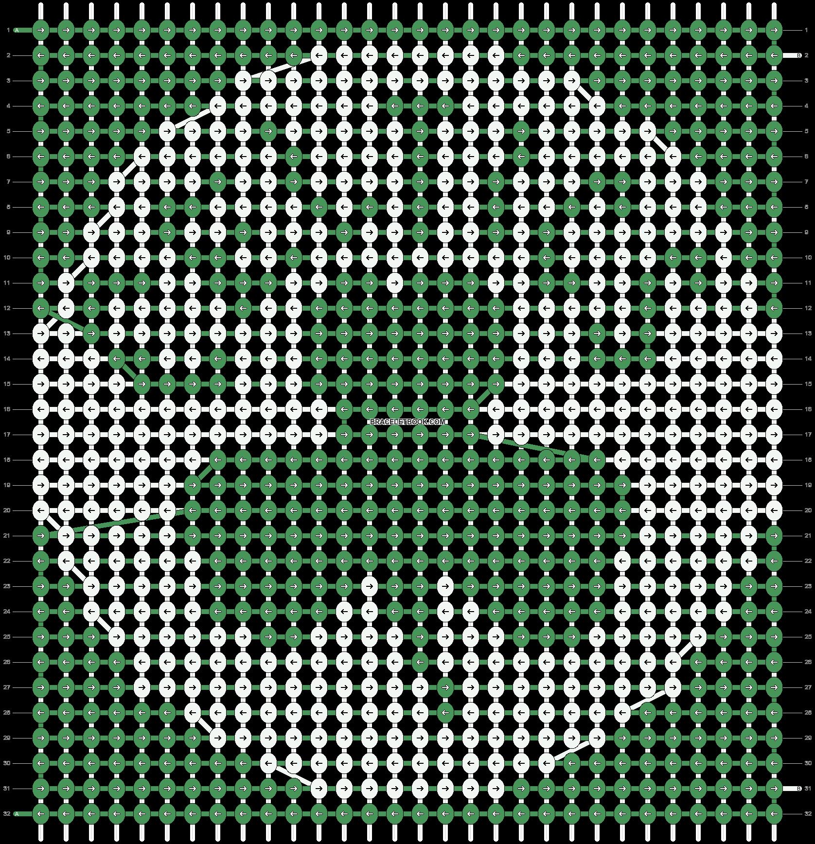 Alpha pattern #57190 pattern
