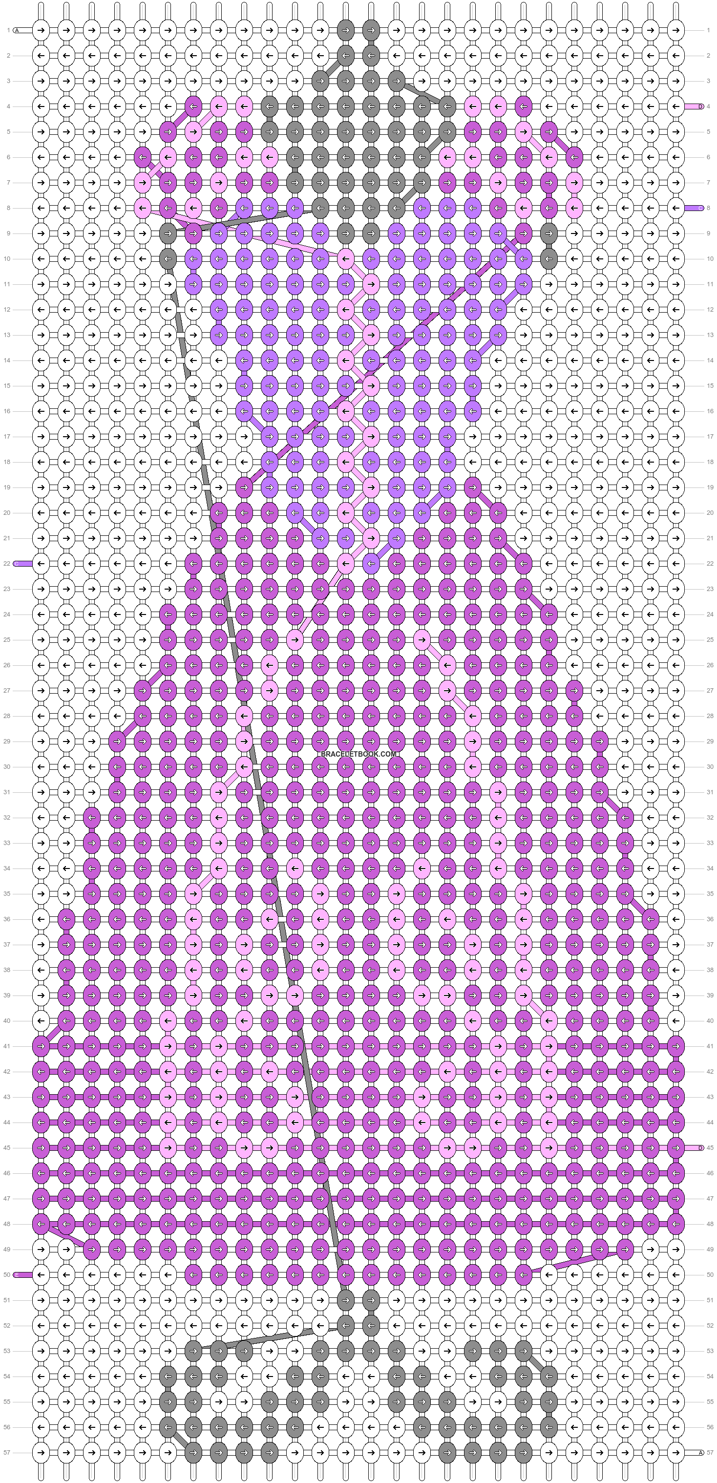 Alpha pattern #57202 pattern