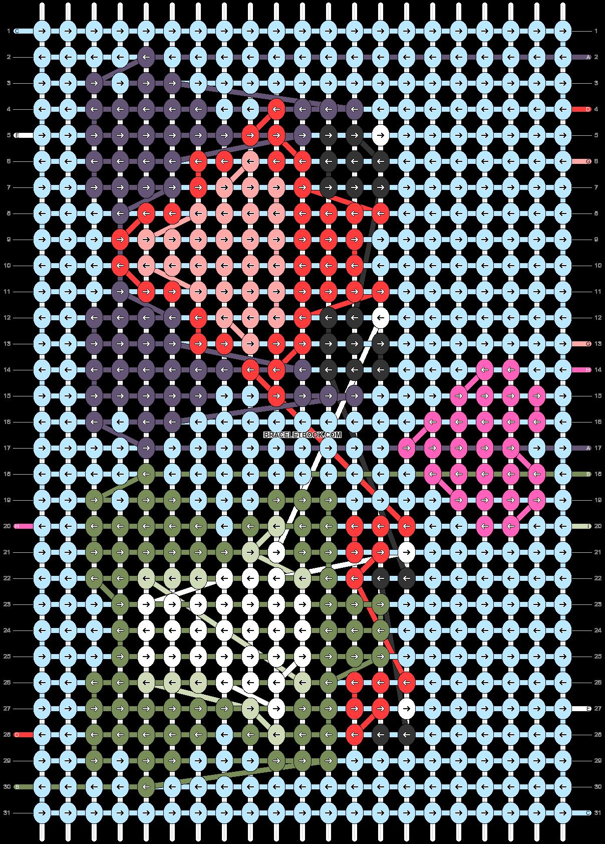 Alpha pattern #57207 pattern