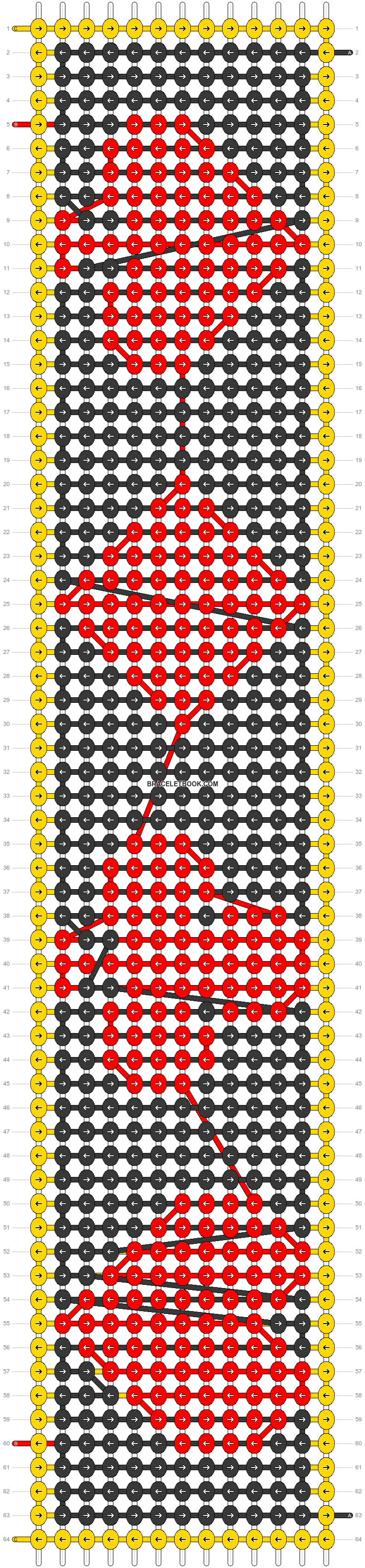 Alpha pattern #57209 pattern