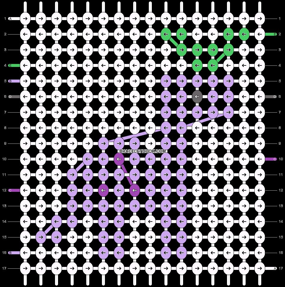 Alpha pattern #57214 pattern
