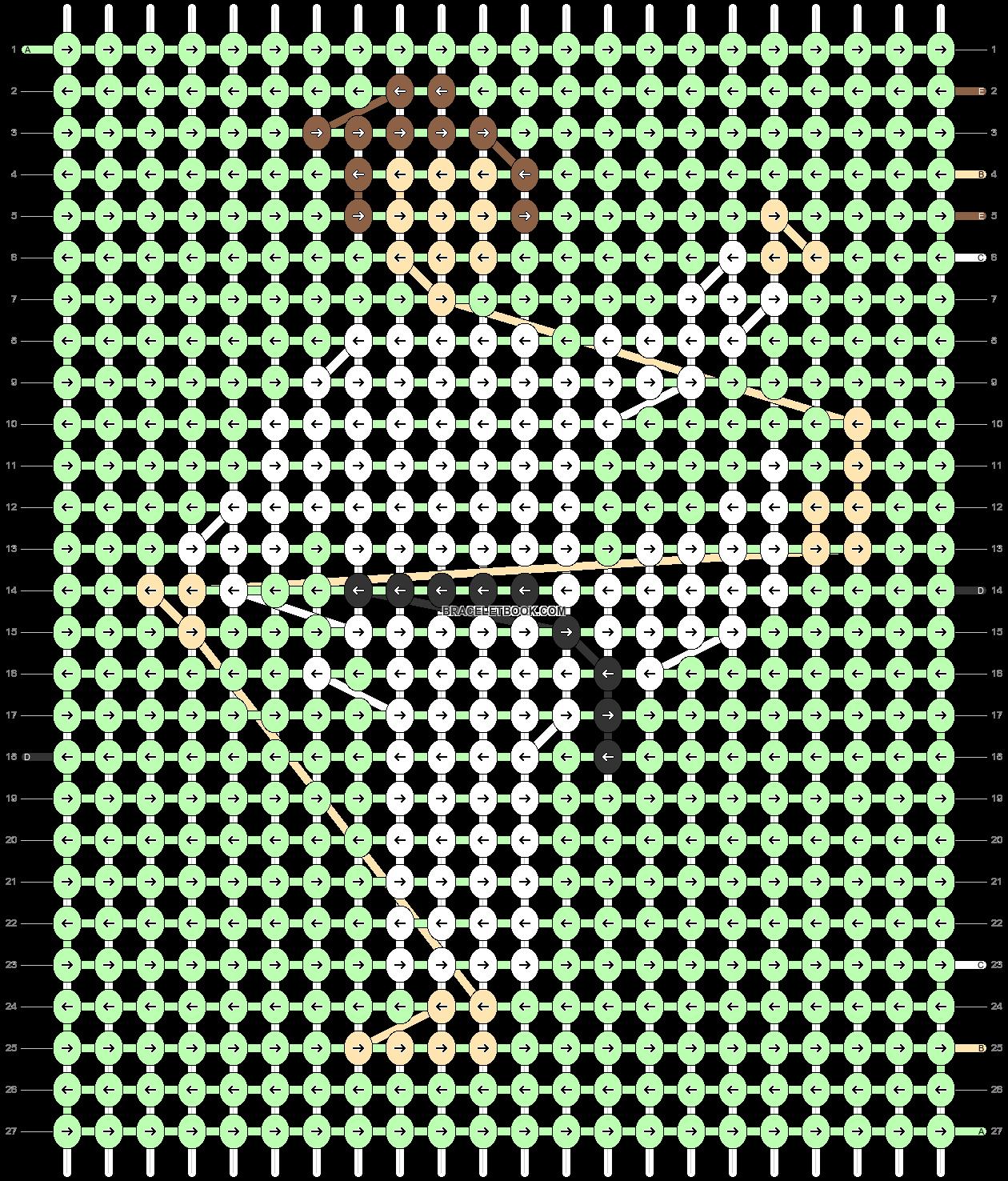 Alpha pattern #57222 pattern