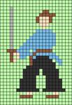 Alpha pattern #57232
