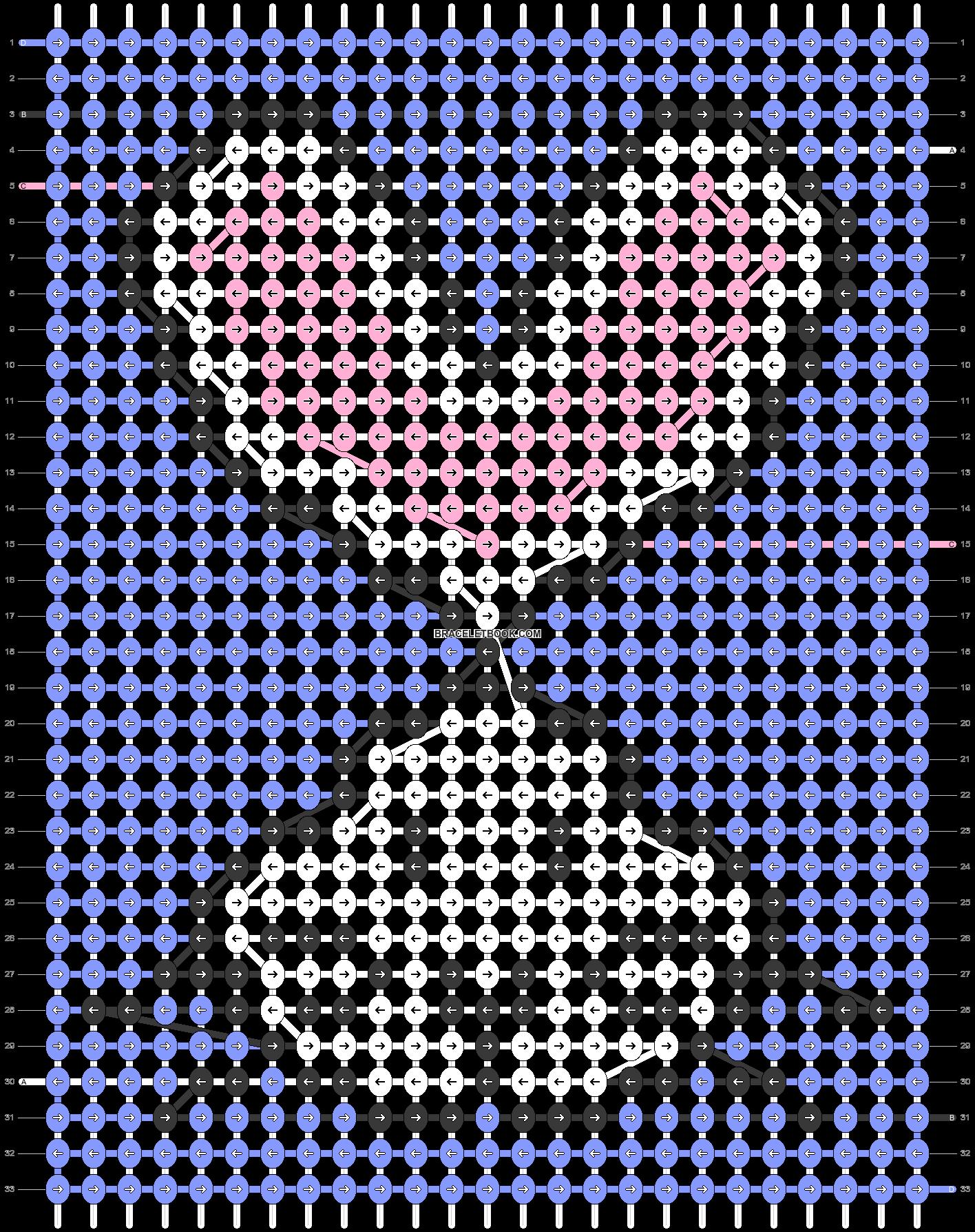 Alpha pattern #57237 pattern