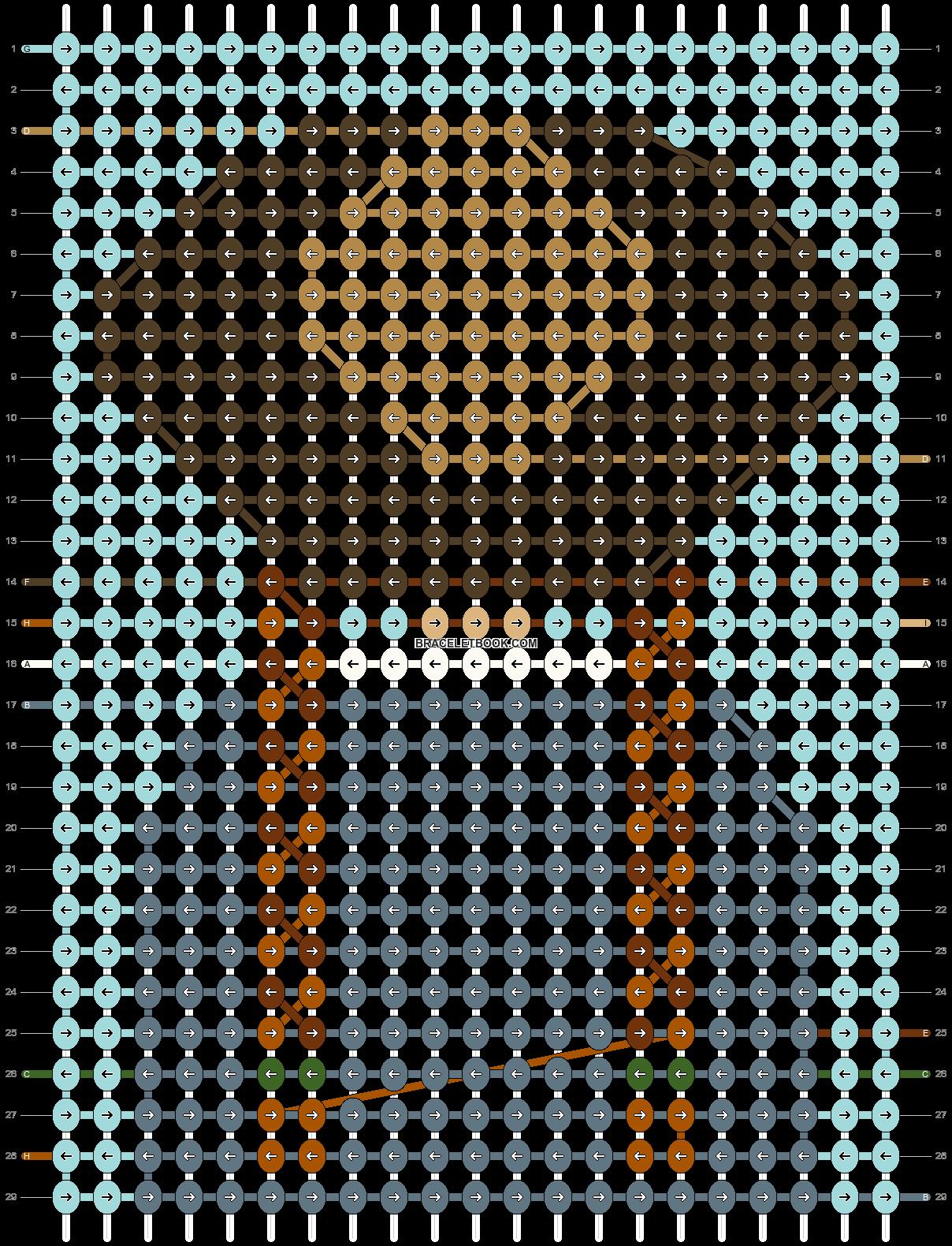 Alpha pattern #57260 pattern