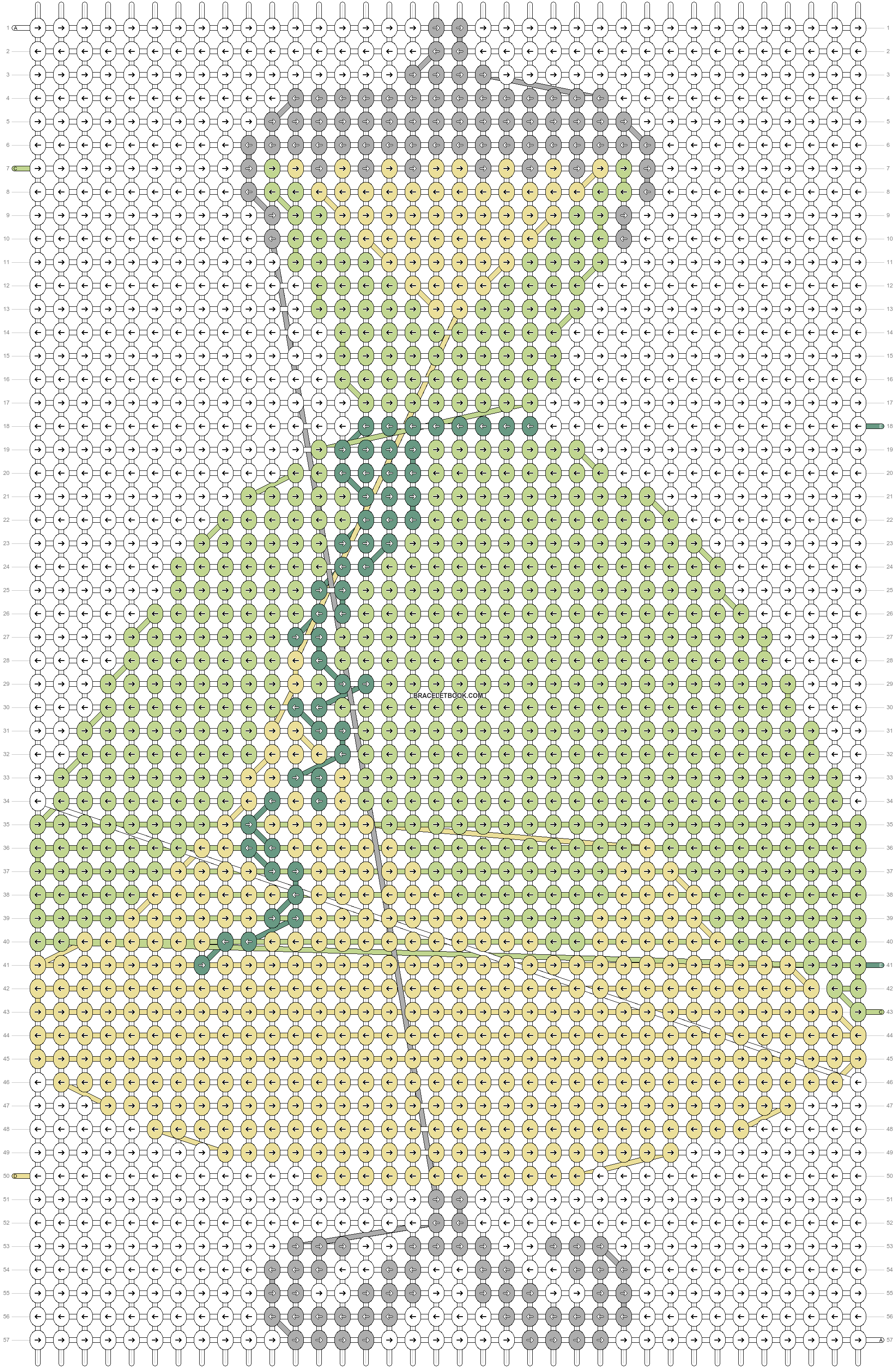 Alpha pattern #57284 pattern