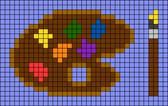 Alpha pattern #57302