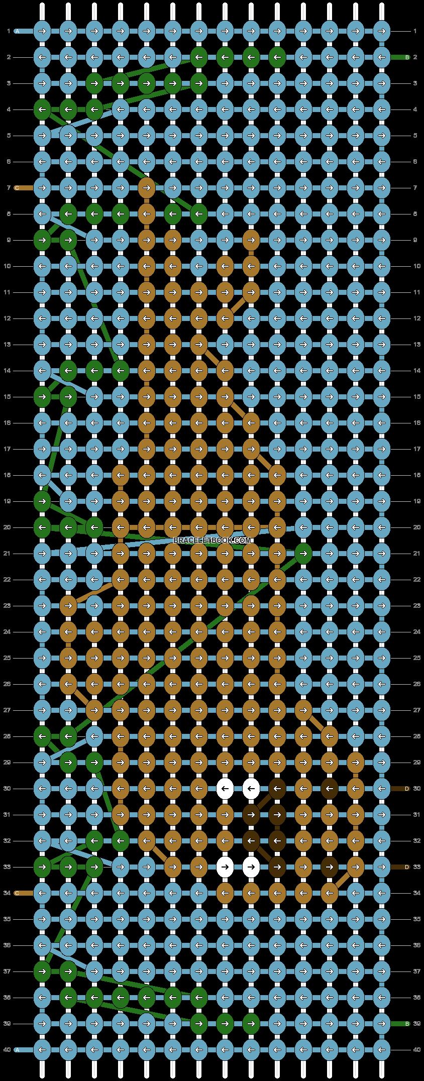 Alpha pattern #57324 pattern