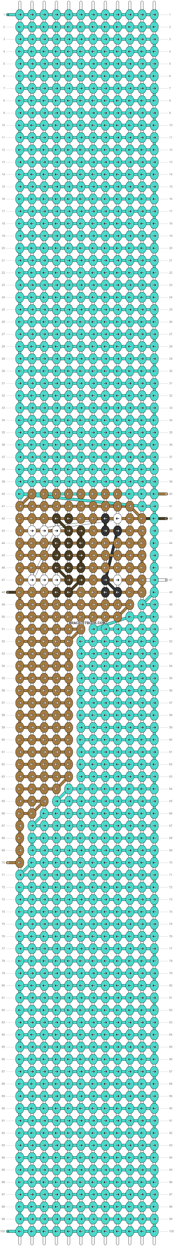 Alpha pattern #57329 pattern