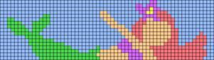 Alpha pattern #57338