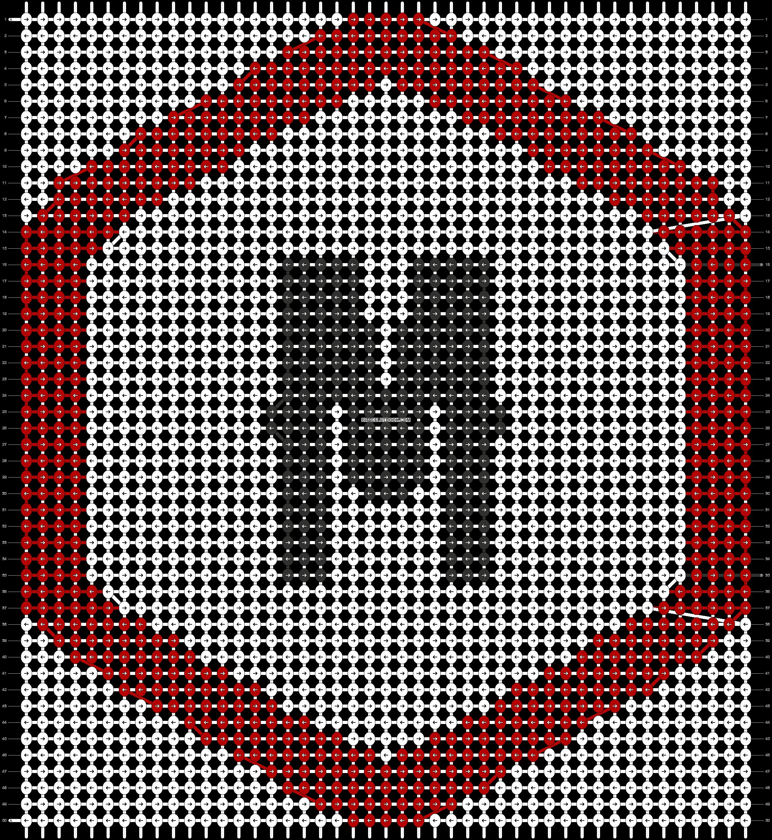 Alpha pattern #57387 pattern