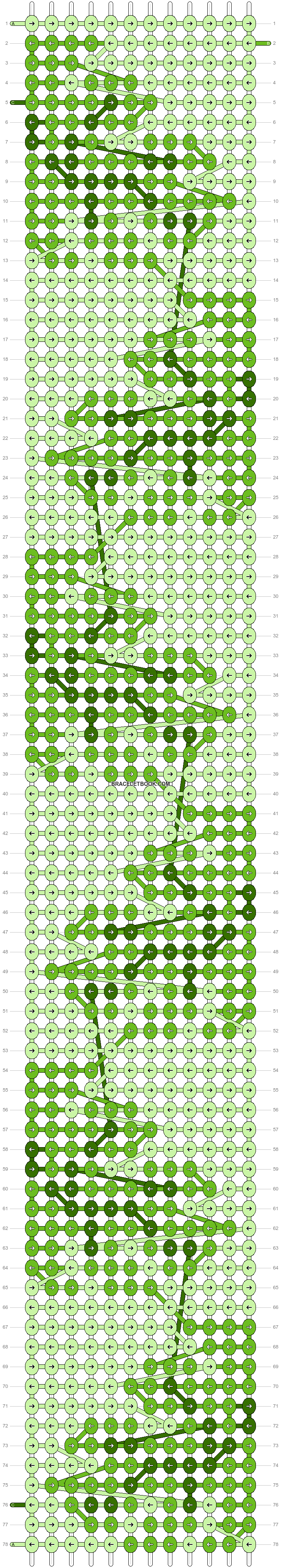 Alpha pattern #57405 pattern