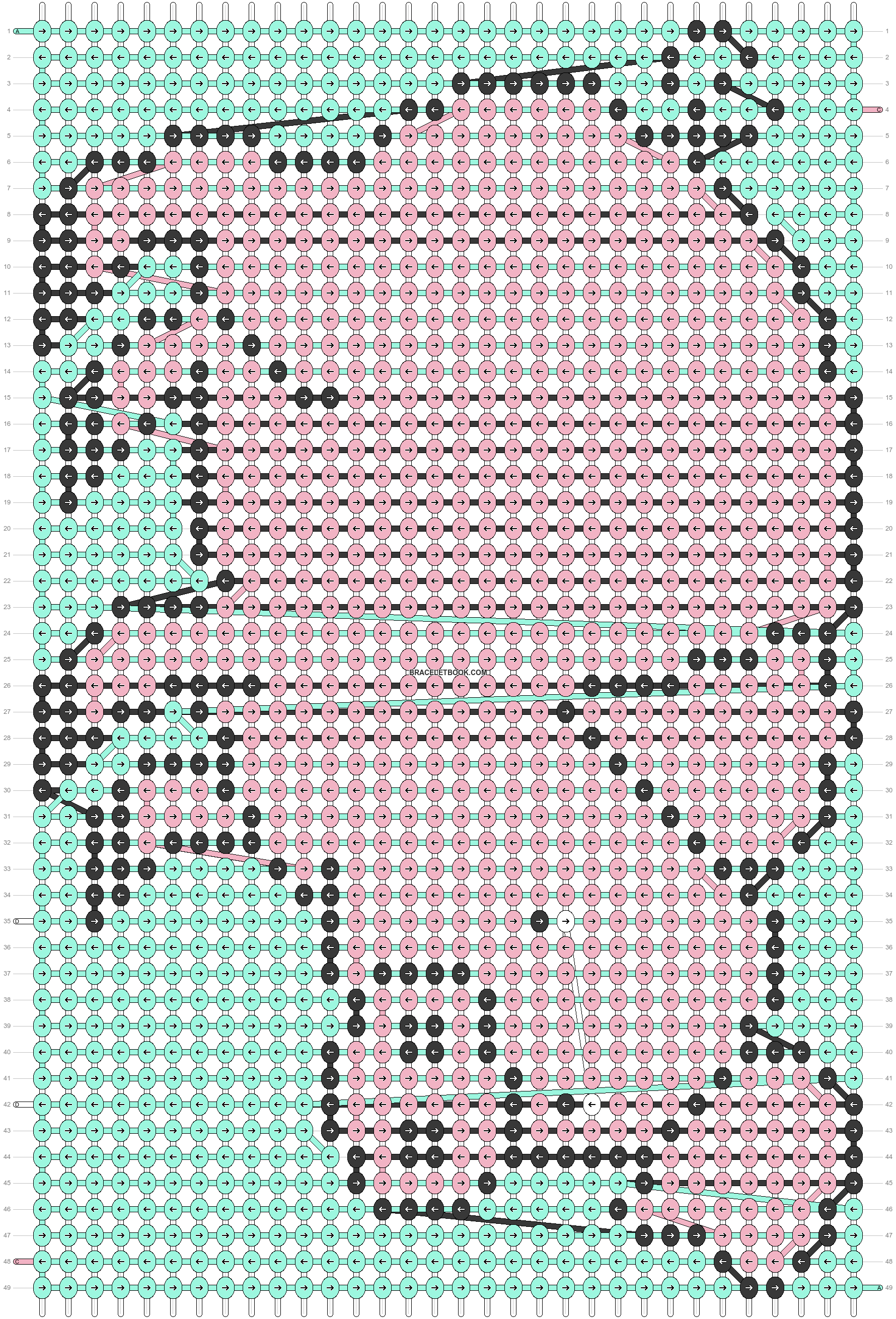 Alpha pattern #57412 pattern