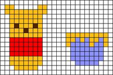 Alpha pattern #57418
