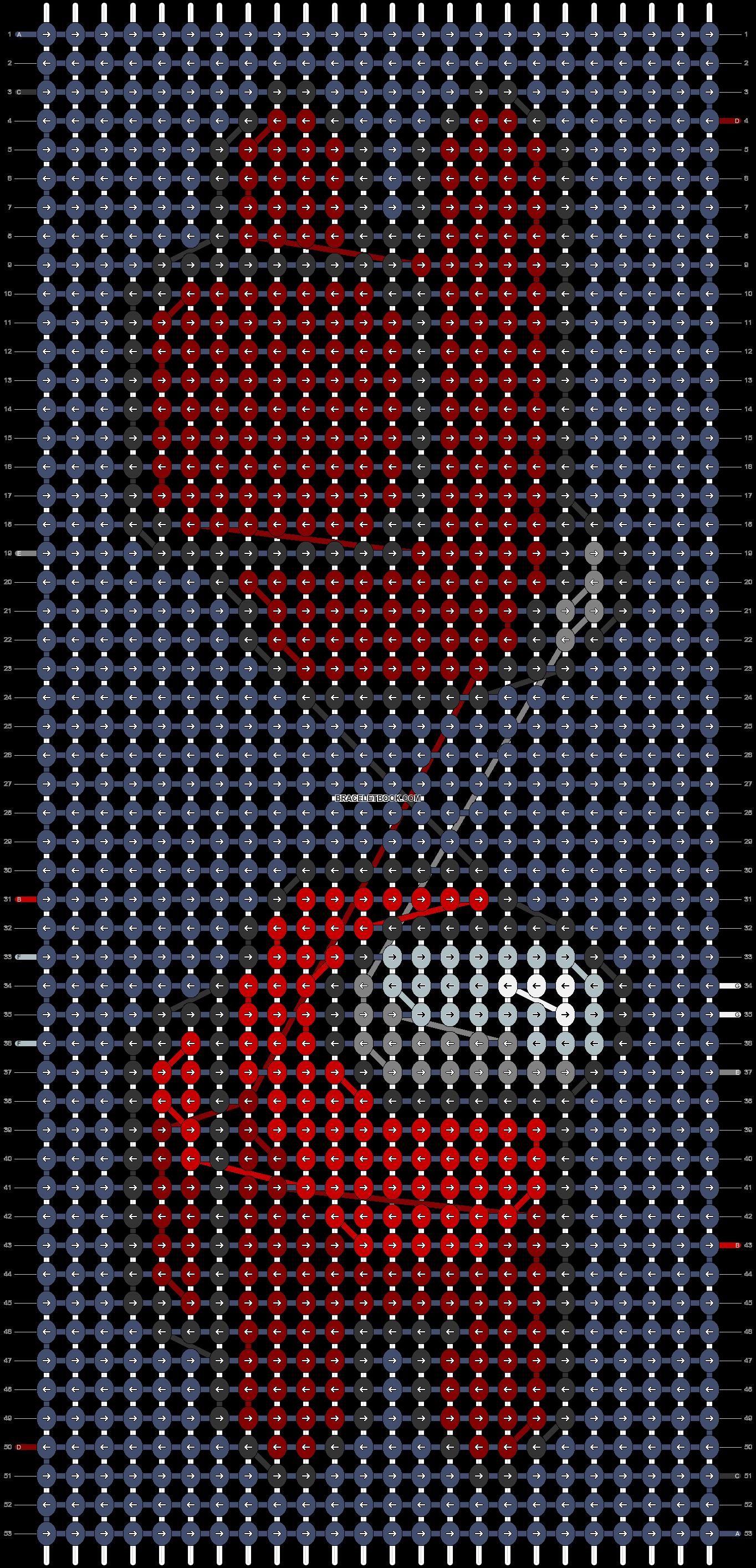 Alpha pattern #57424 pattern