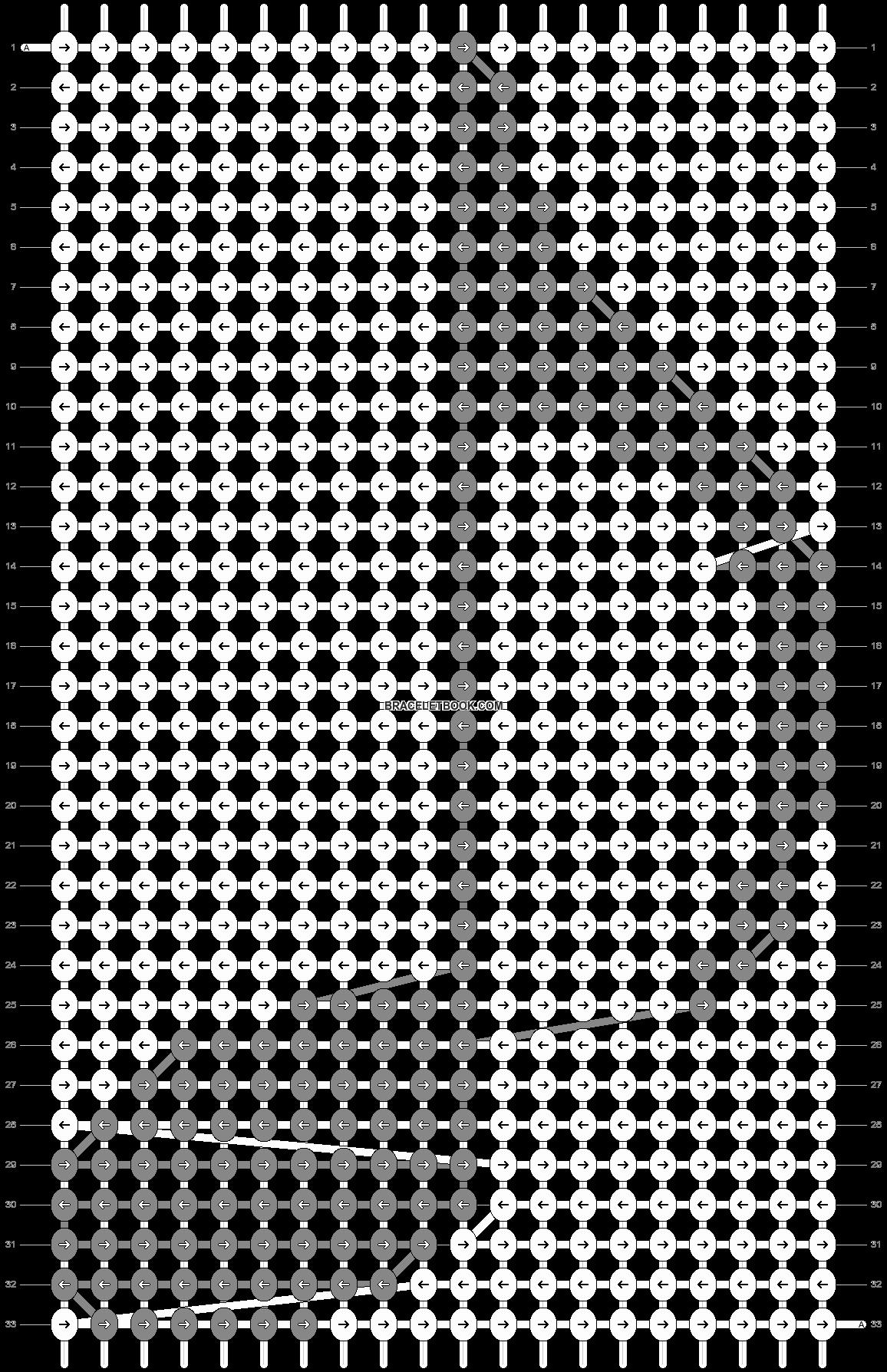 Alpha pattern #57427 pattern