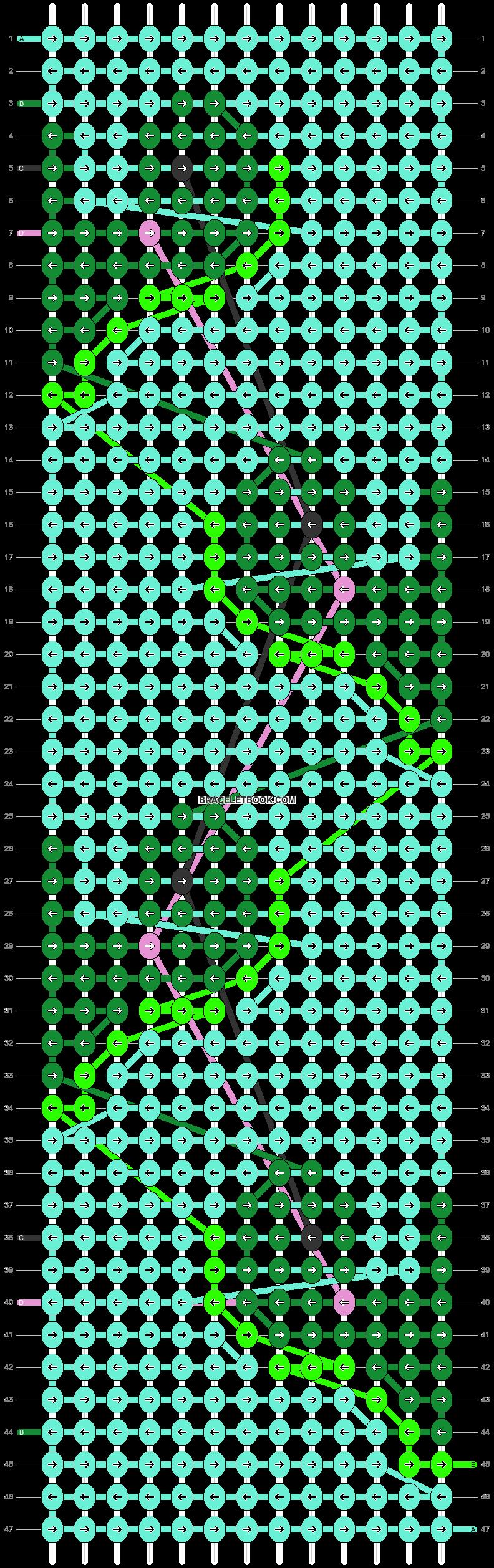 Alpha pattern #57428 pattern