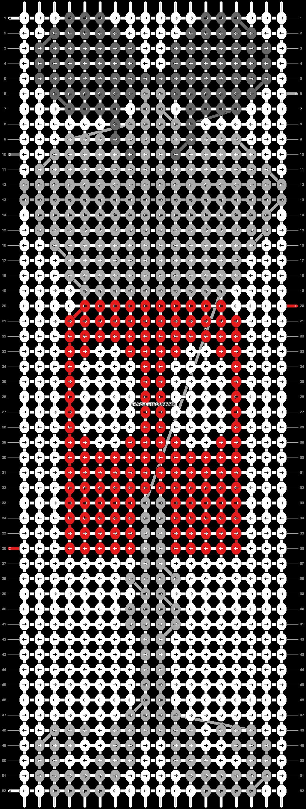 Alpha pattern #57433 pattern