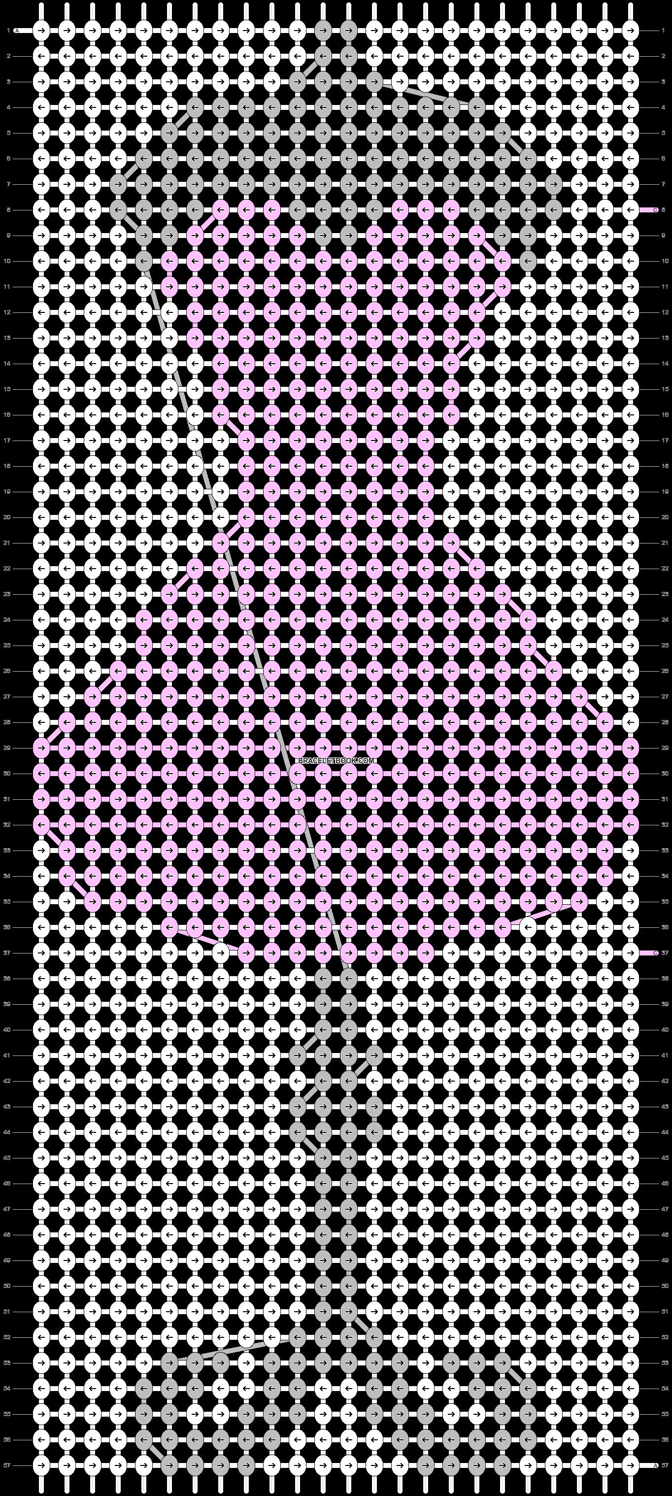 Alpha pattern #57436 pattern