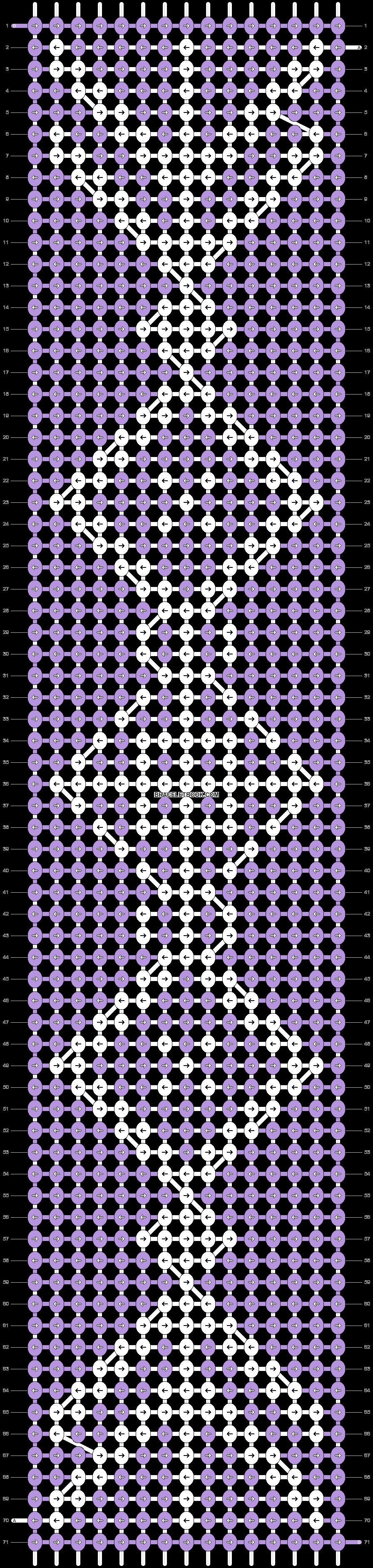 Alpha pattern #57439 pattern