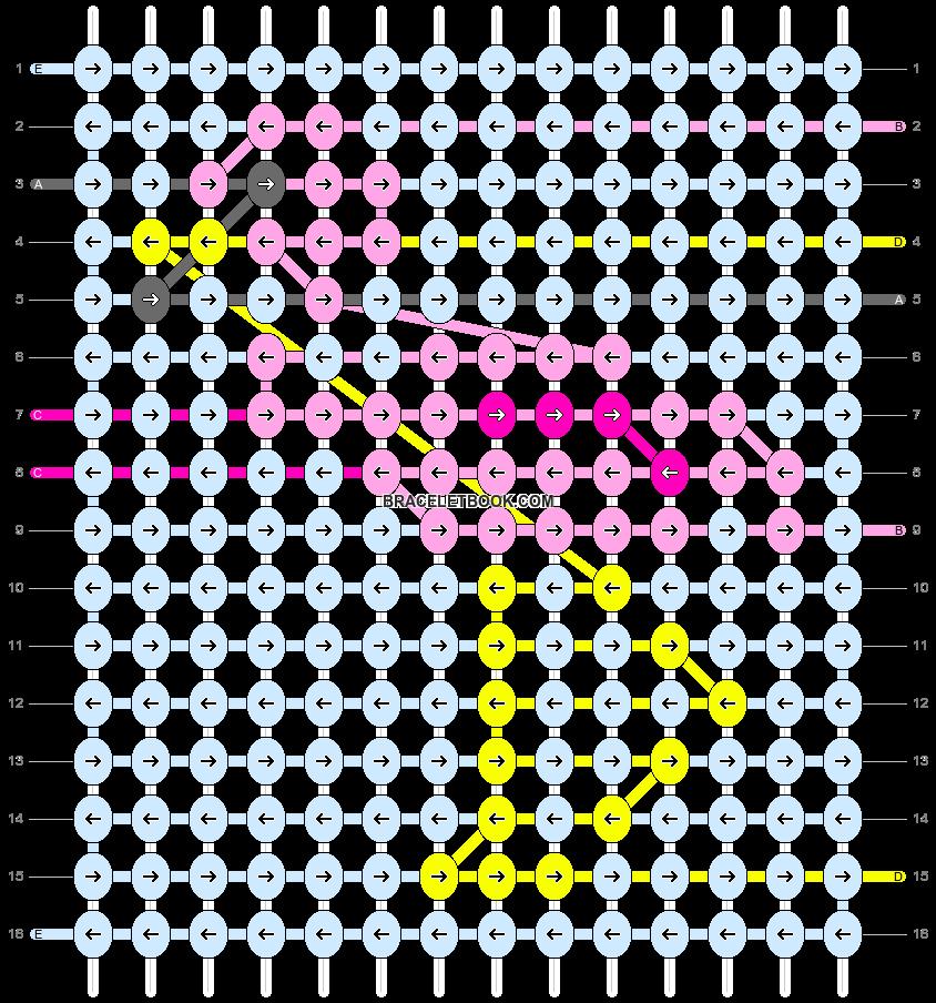 Alpha pattern #57440 pattern