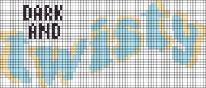 Alpha pattern #57464