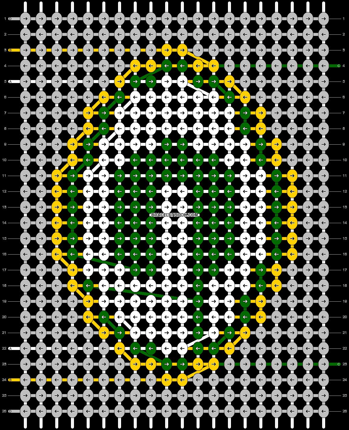 Alpha pattern #57465 pattern
