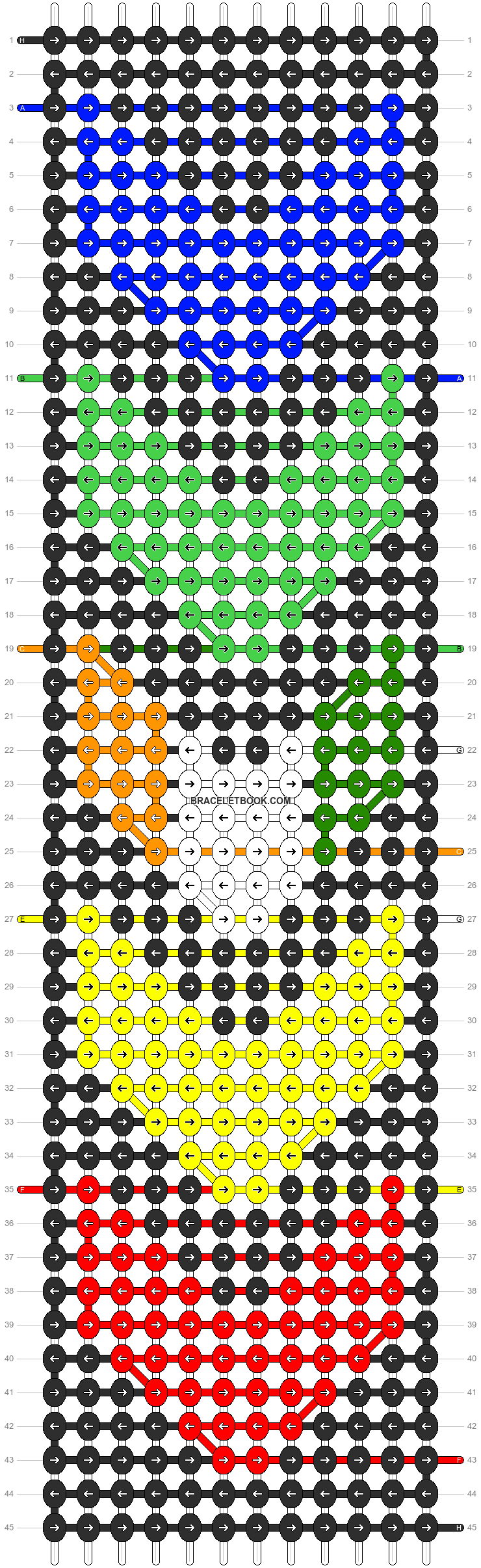 Alpha pattern #57476 pattern