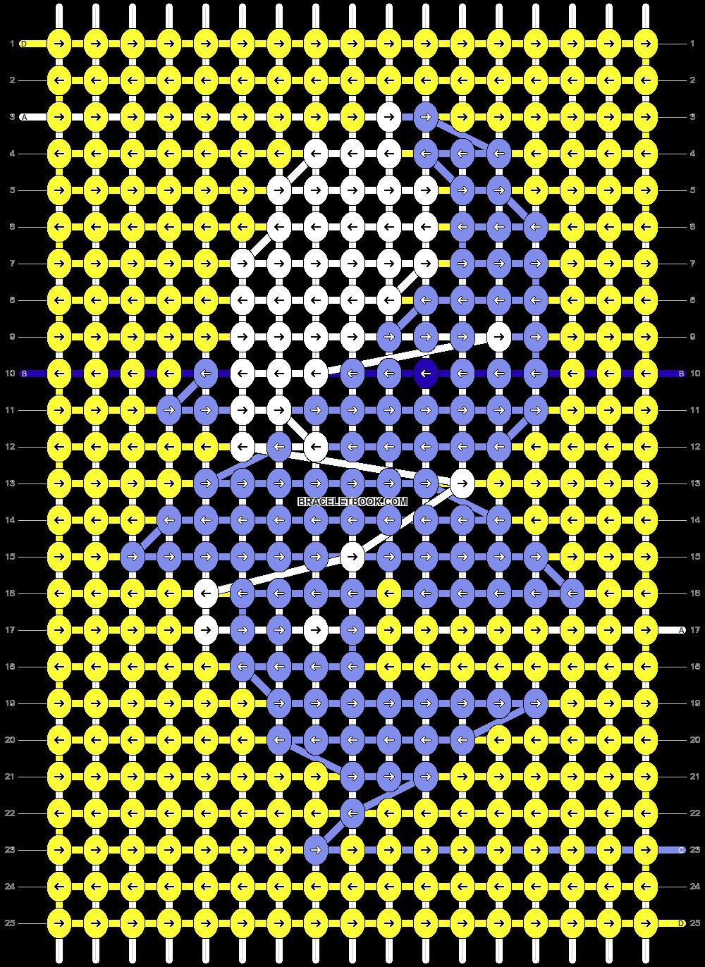 Alpha pattern #57512 pattern