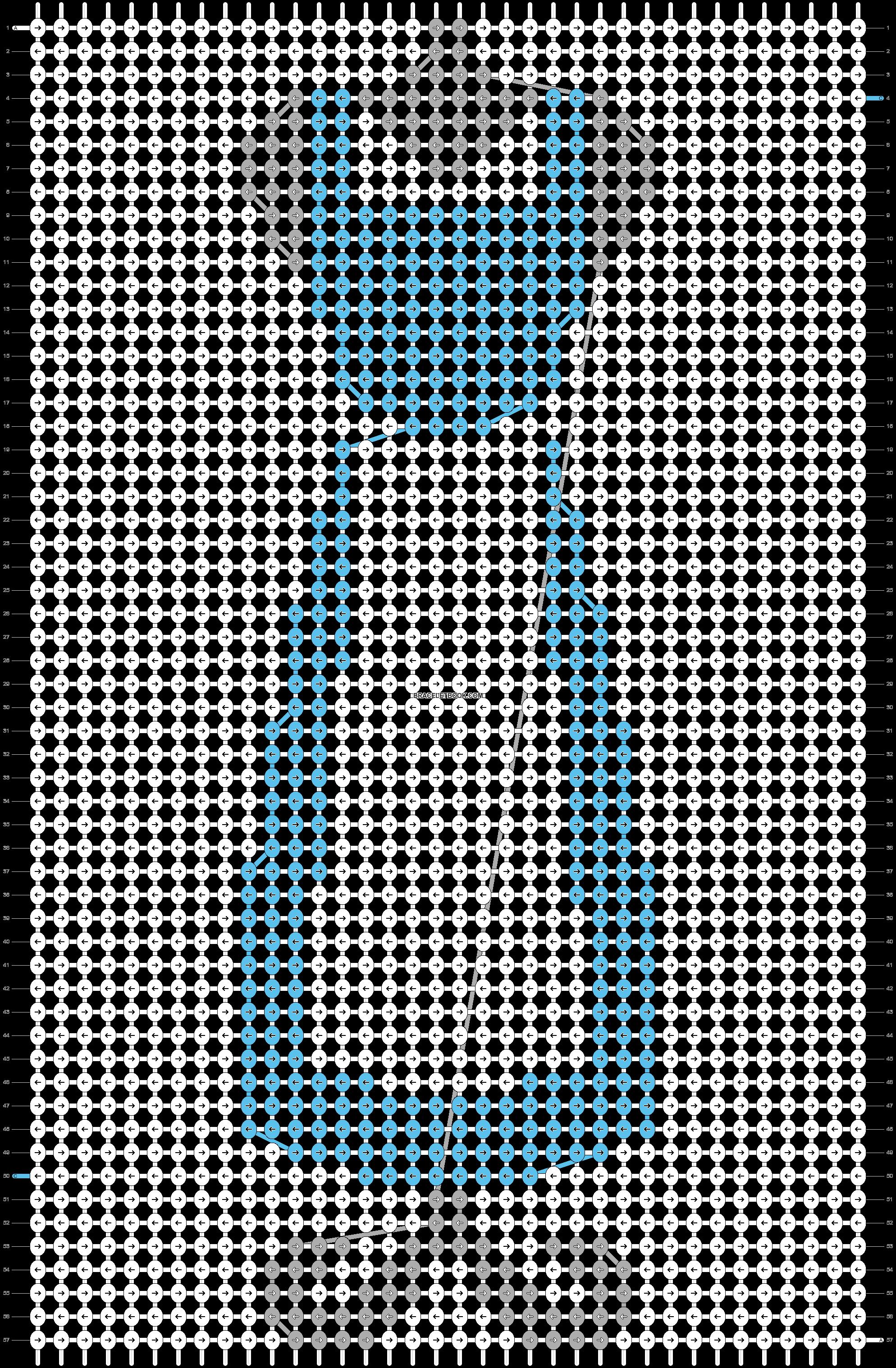 Alpha pattern #57526 pattern