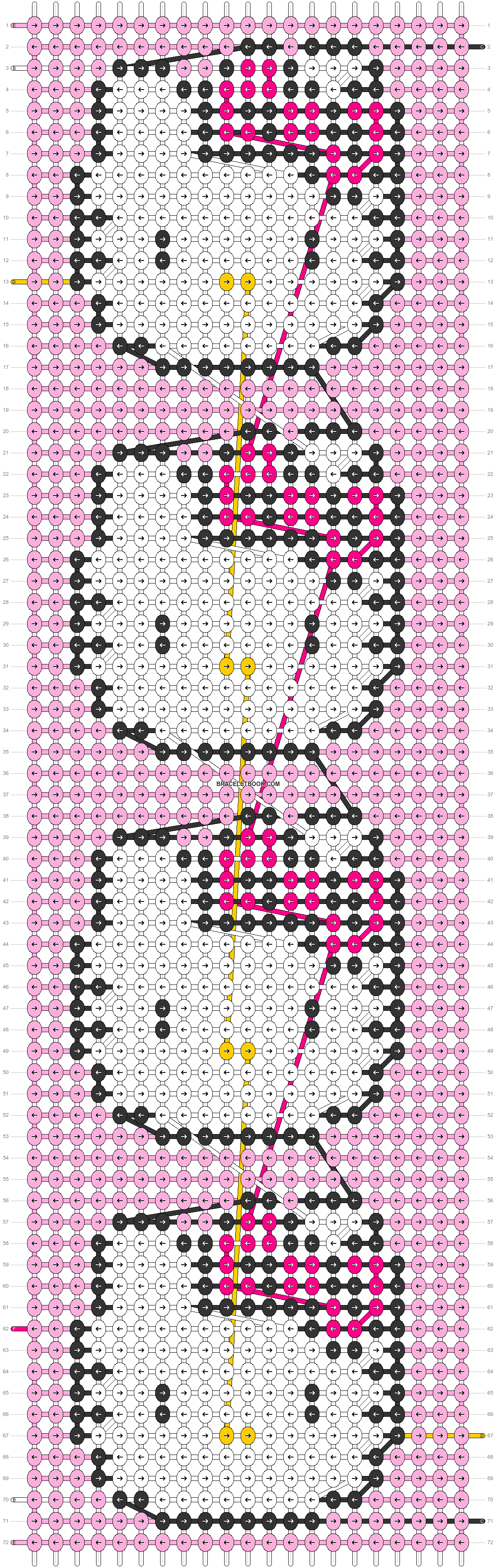 Alpha pattern #57551 pattern