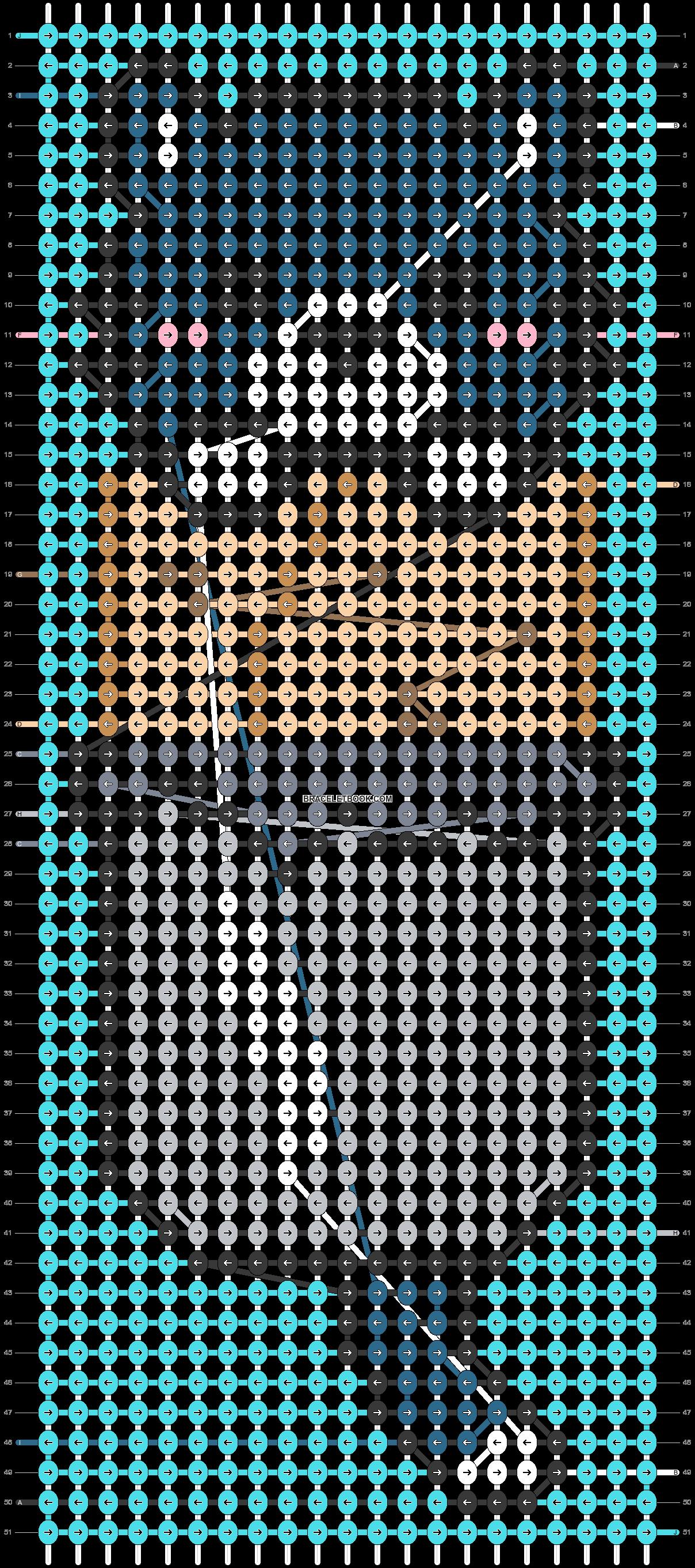 Alpha pattern #57580 pattern